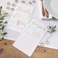 Beautiful Botanics  Advice Cards - Rose Gold