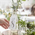 Beautiful Botanics Table Number - 1-12