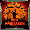 Happy Halloween Square Foil Balloon