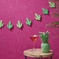 Hot Summer Bunting - Wooden - Cactus