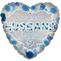 Husband Rememberance Balloon 18