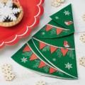 Vintage Noel Paper Napkins - Christmas Tree