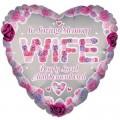 Wife Rememberance Balloon 18