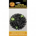 Green Spider Halloween fan decoration