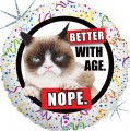 Grumpy Cat Birthday Foil Balloon